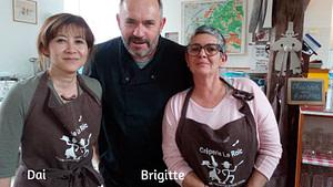 Brigitte et Dai chez Le Roïc